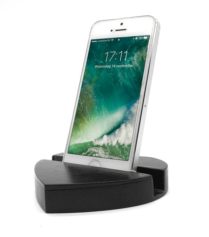 VAH Heart Mobile Stand  (Black)