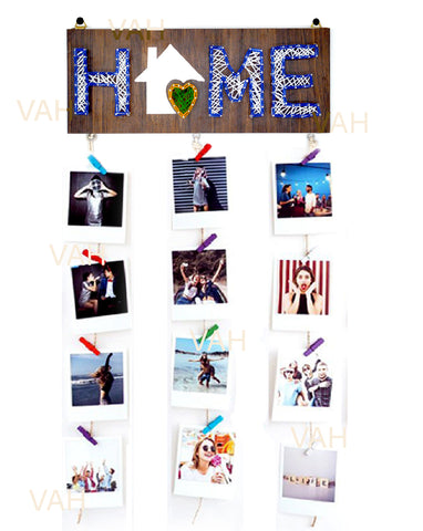 VAH Family Hanging Photo Display Picture Frame Collage Picture Display