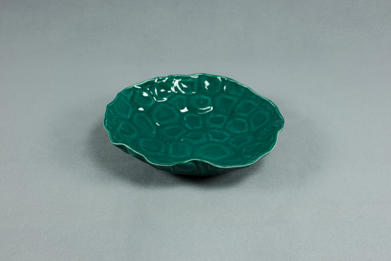 Shell Plate - Dark Green