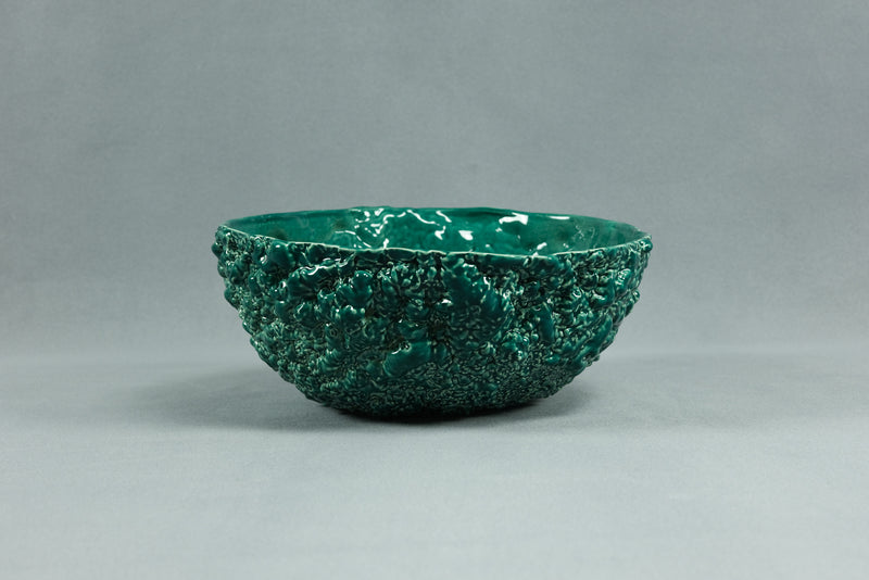 Popcorn Bowl Dark Green