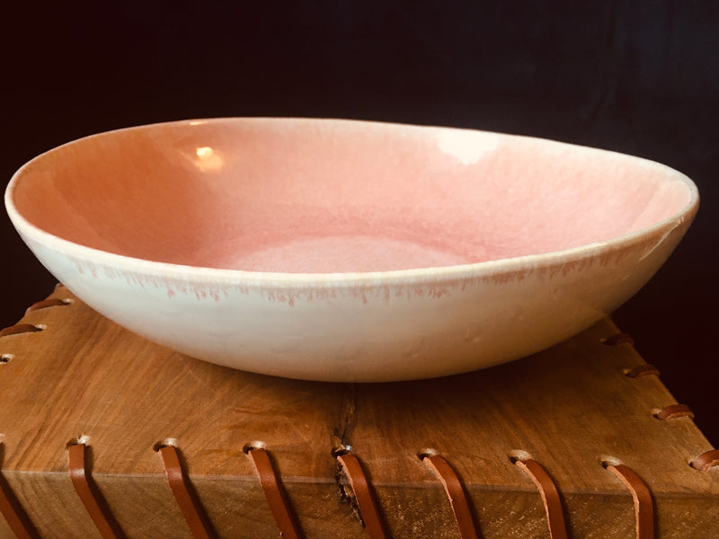 Pretty in Pink Salad Bowl