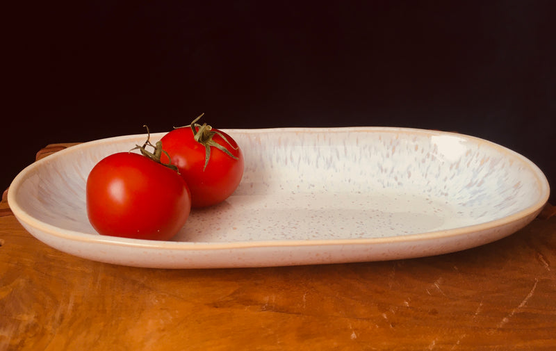 Small Serving Dish - White