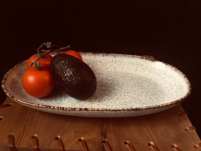 Small Serving Platter - Kleine Servierplatte
