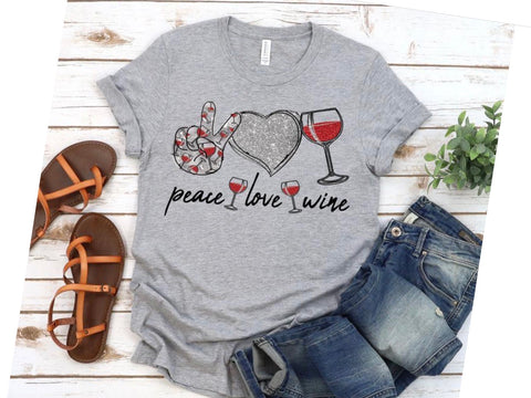 Peace, Love, Wine
