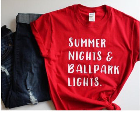 Summer Nights Tee