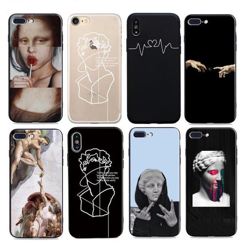 Art Phone Case For Apple iPhone