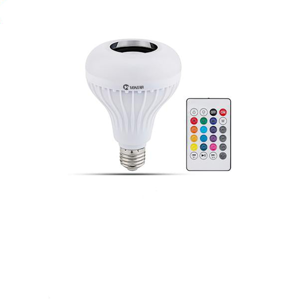 Bluetooth Speaker Light Bulb with Remote Control