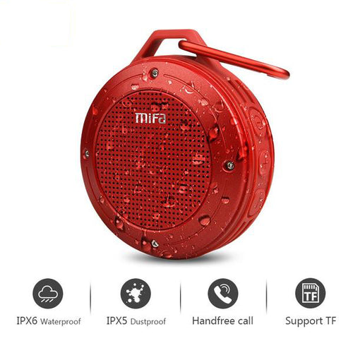 Water-proof Bluetooth Speaker with Built-in mic