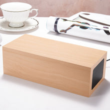 Load image into Gallery viewer, Multifunctional Wooden LED Screen Alarm Clock and Bluetooth Speaker. Limited Supply