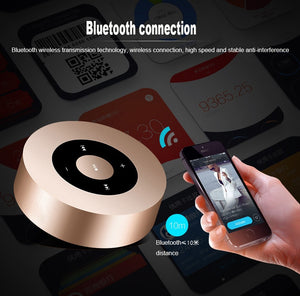 LED Touch Design Portable Mini Bluetooth Speaker
