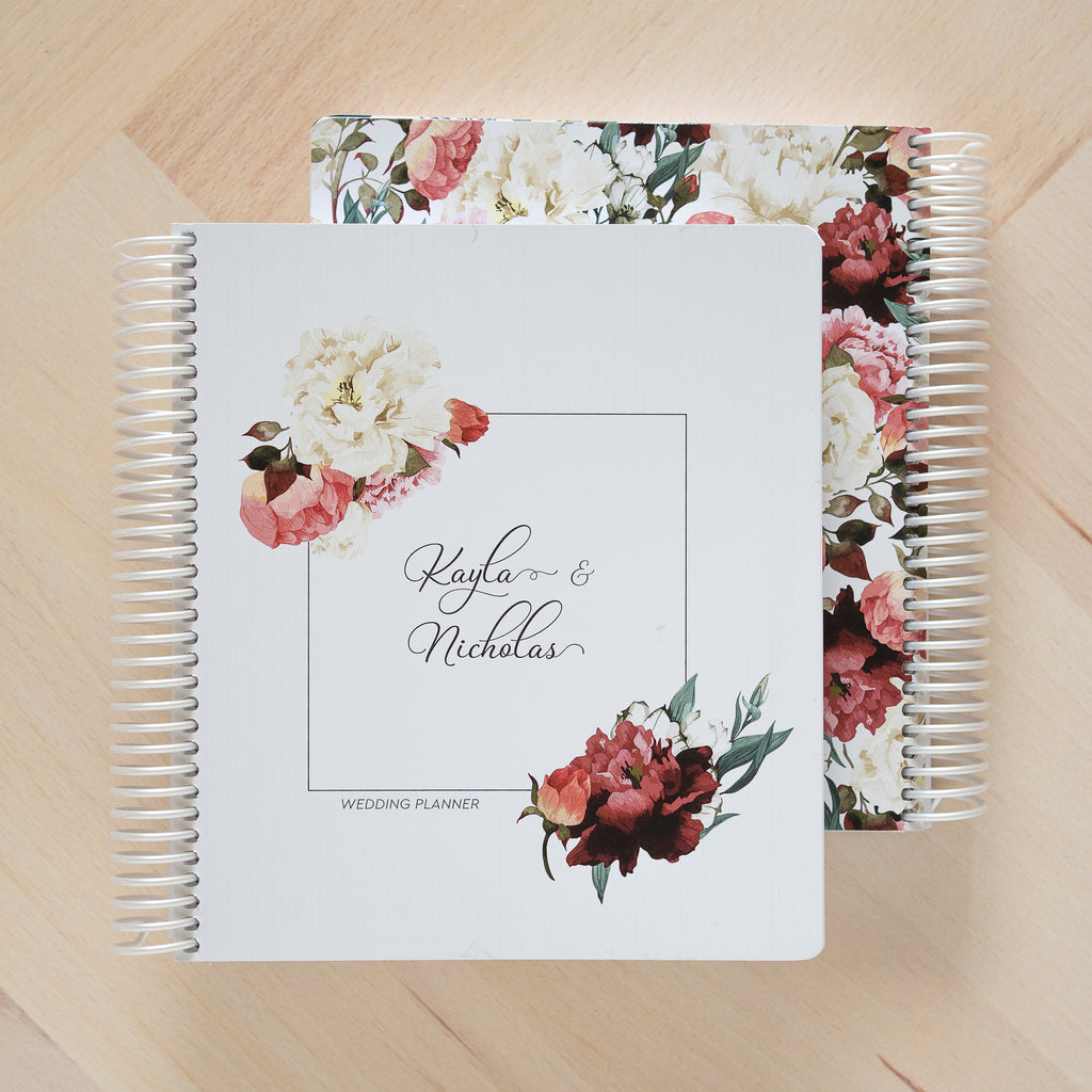 Personalised Wedding Planner Books