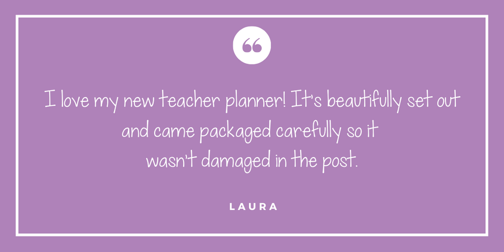 Personalised Teacher Planners Australia
