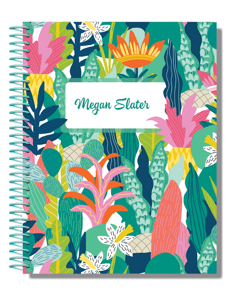 Jungle | 2021 Personalised Planner
