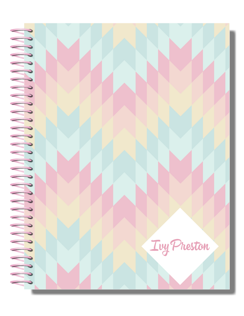 Fairy Floss | 2021 Personalised Planner