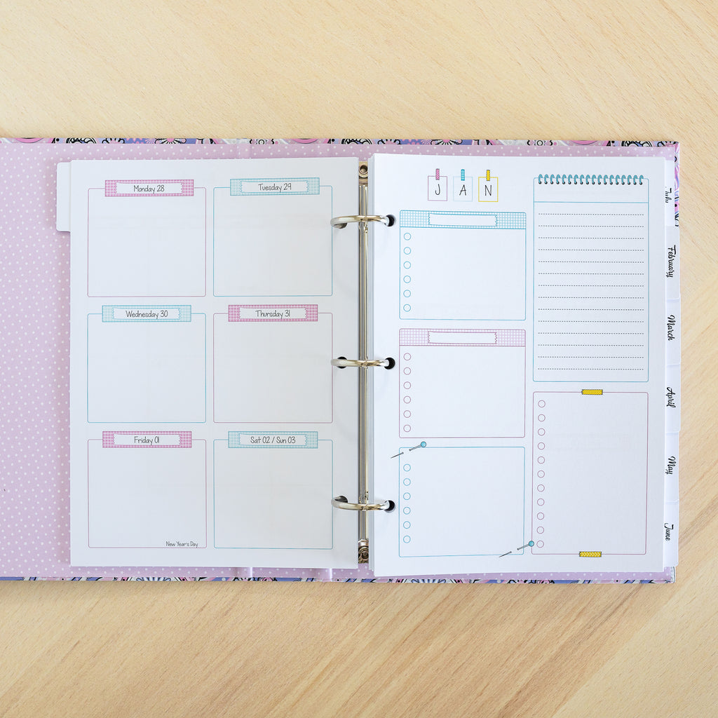 Weekly Base Pages | Binder Planner Inserts