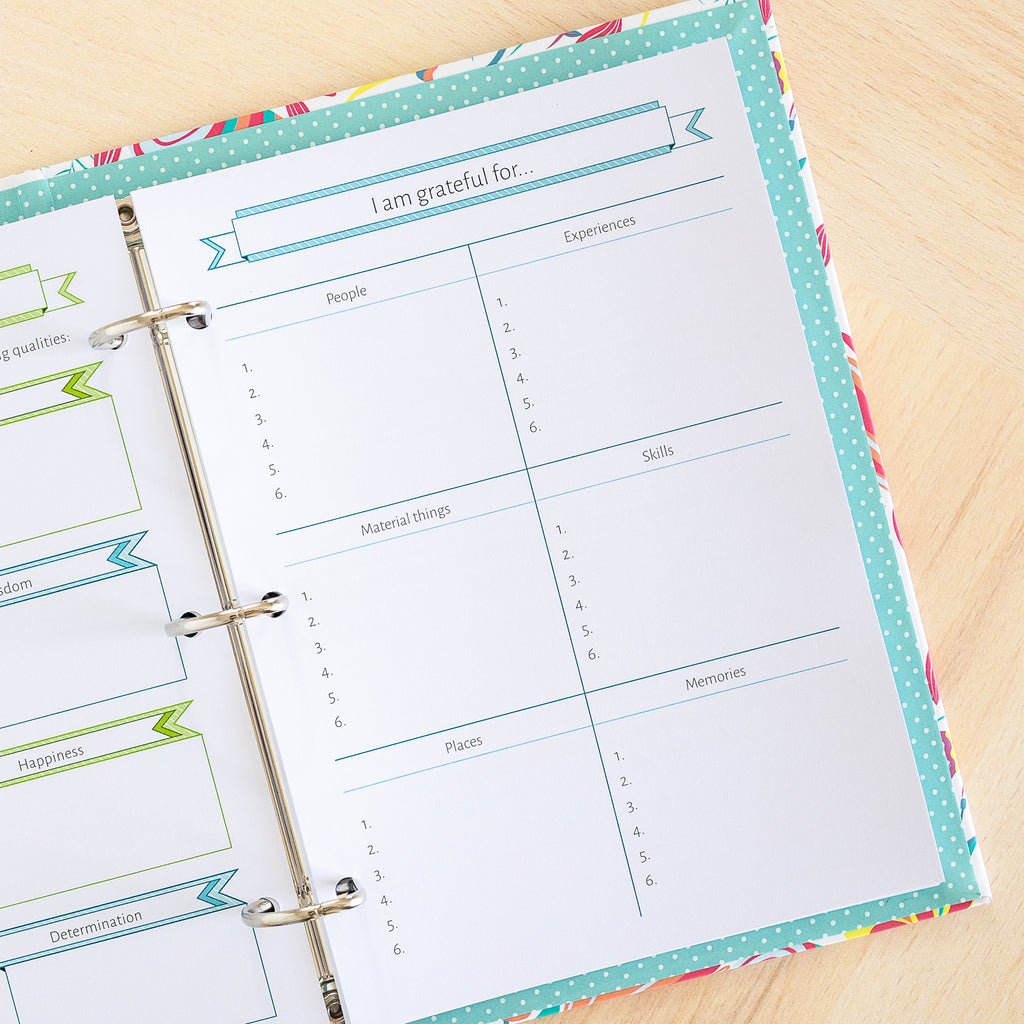 The Wellness Bundle | Binder Planner Inserts