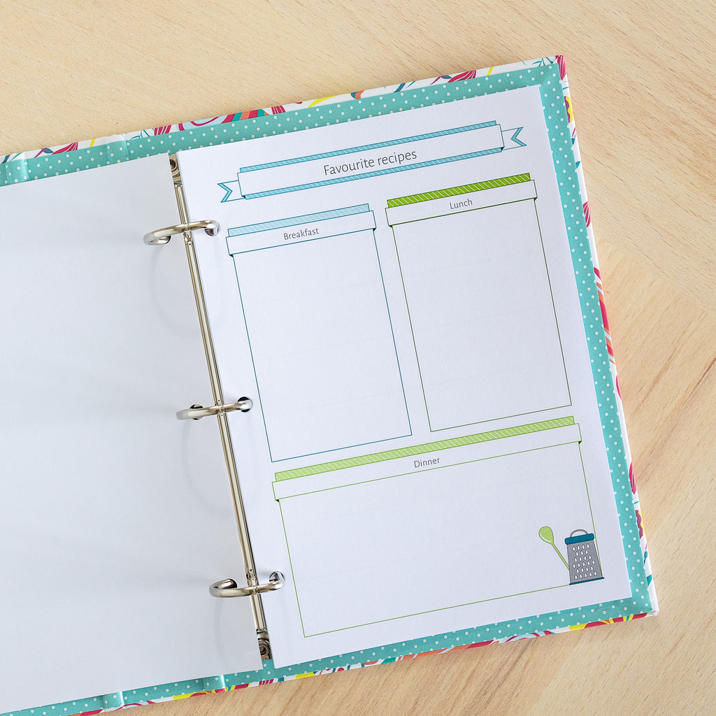 The Meal Planning Bundle | Binder Planner Inserts
