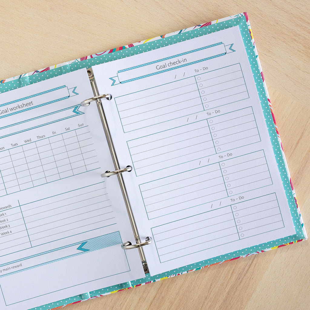 The Goal Setting Bundle | Binder Planner Inserts