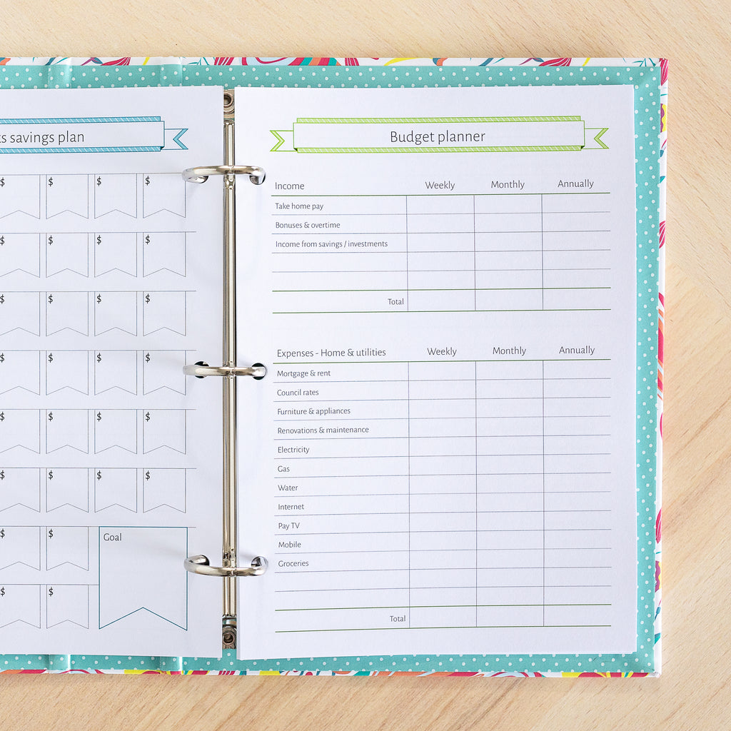 The Finance Bundle | Binder Planner Inserts