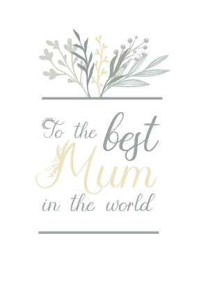 Free Printable Mother's Day Card