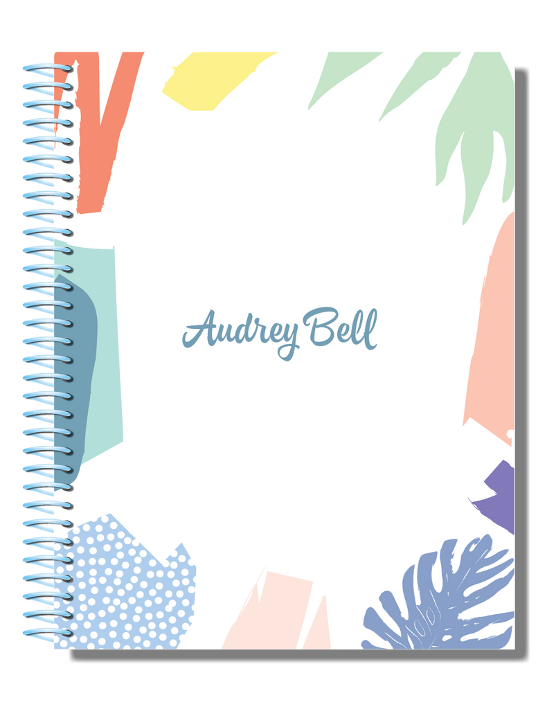 Pretty in Pastel | 2021 Personalised Planner