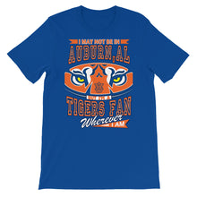 Load image into Gallery viewer, Premium Adult Wherever I Am- Auburn Tigers T-Shirt (SS)