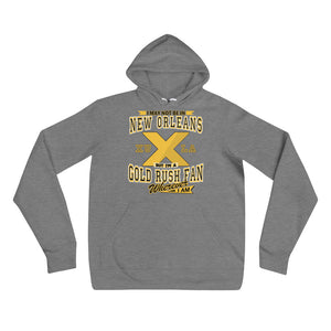 Premium Adult Wherever I Am- Xavier Gold Rush Fleece Pullover Hoodie