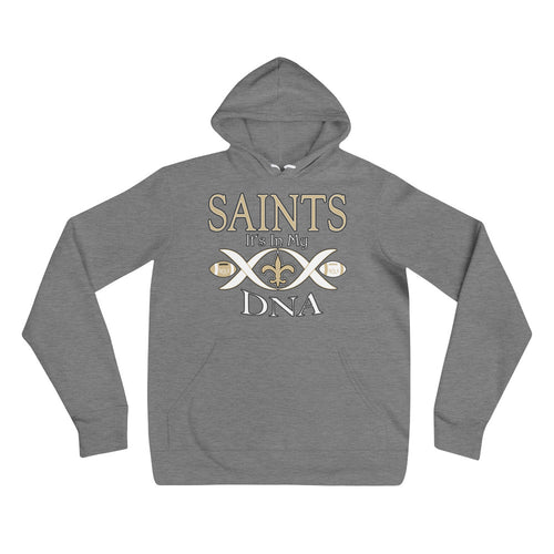 Premium Adult Saints in My DNA Fleece Hoodie