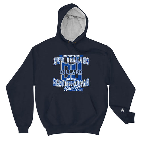 Premium Adult Dillard Fan Wherever I Am Champion Cotton Max Hoodie