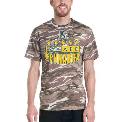 Adult Short-sleeved camouflage We Are Kennabra t-shirt
