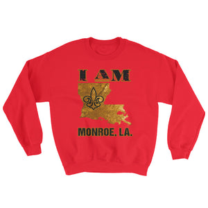 Adult Unisex I Am Monroe Crewneck Sweatshirt