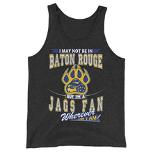 Load image into Gallery viewer, Premium Adult Wherever I Am- Southern Jaguars Tank Top
