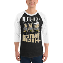 Load image into Gallery viewer, Adult NFL Refs Robbed The Saints Baseball Shirt