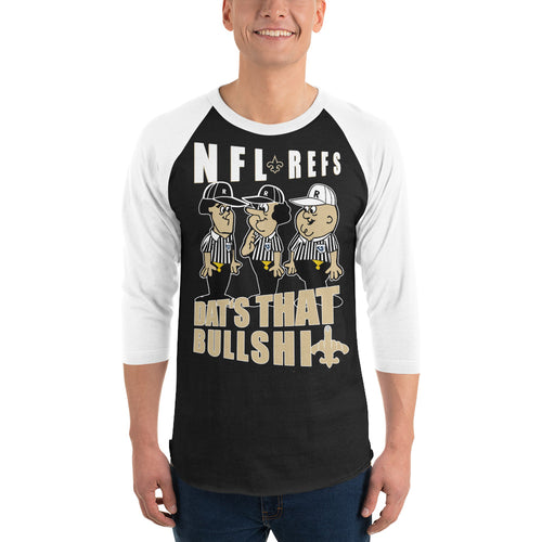 Adult NFL Refs Robbed The Saints Baseball Shirt