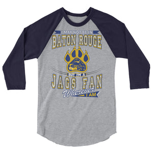 Adult Wherever I Am- Southern Jaguars Shirt (3/4 Sleeve)