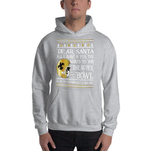 Load image into Gallery viewer, Adult All I Want- Saints Superbowl 2019 Hooded Sweatshirt