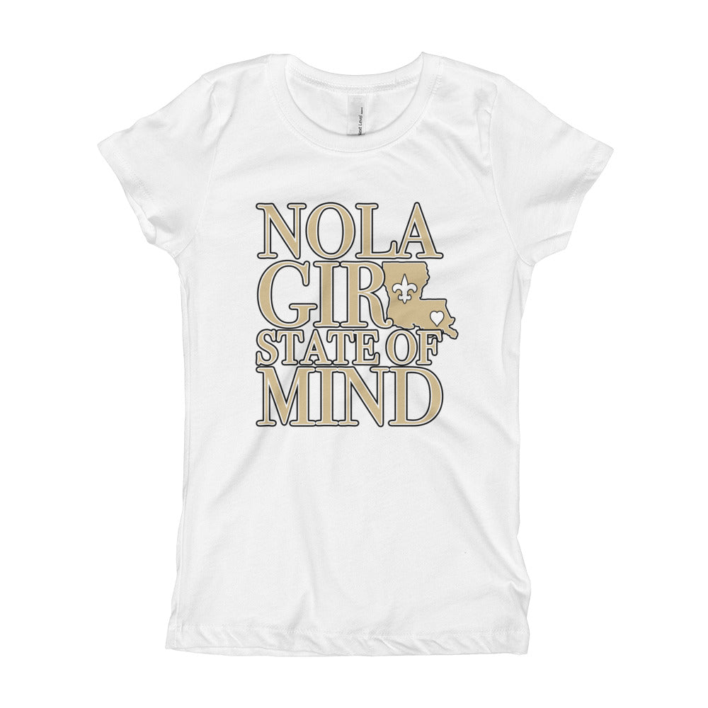 Girl's NOLA Girl State of Mind (LA) T-Shirt (SS)
