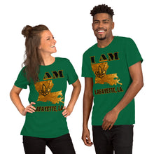 Load image into Gallery viewer, Premium Adult Short-Sleeve Unisex I AM LAFAYETTE T-Shirt