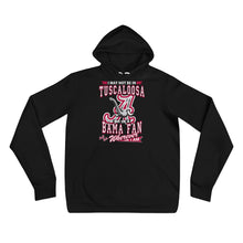 Load image into Gallery viewer, Premium Adult Alabama Fan Wherever I Am Unisex Fleece Pullover Hoodie