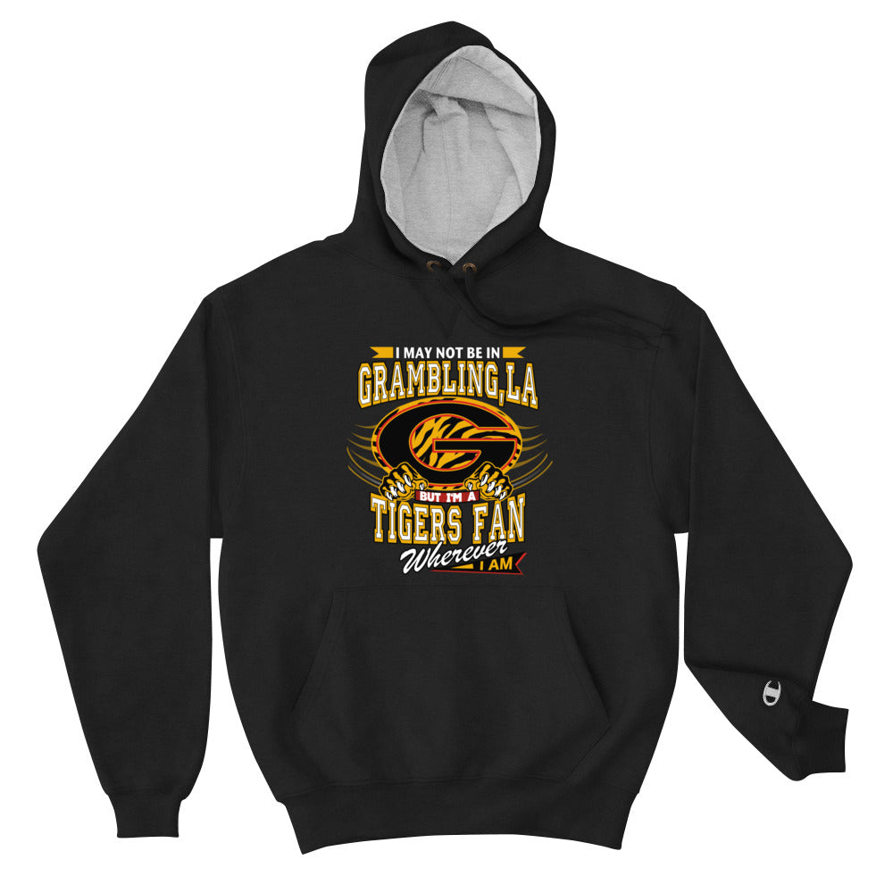 Premium Adult Wherever I Am- Grambling Max Hoodie
