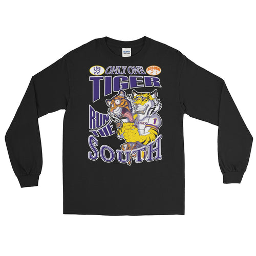 Adult LSU vs Auburn 2018 T-Shirt (LS)