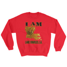 Load image into Gallery viewer, Adult Unisex I Am Lake Charles Sweatshirt
