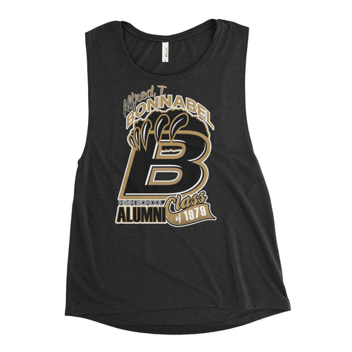 Premium Ladies' Bonnabel H.S. Alumni Class 1979 Muscle Tank