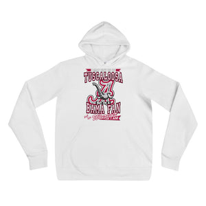 Premium Adult Alabama Fan Wherever I Am Unisex Fleece Pullover Hoodie