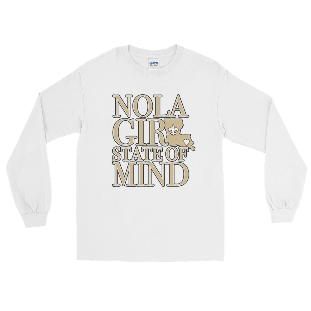 Adult NOLA State of Mind (LA) T-Shirt (LS)