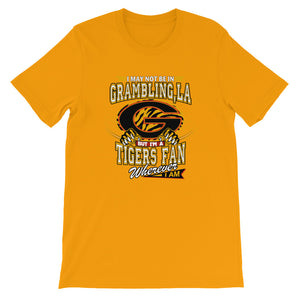 Premium Wherever I Am- Grambling Tigers T-Shirt (SS)