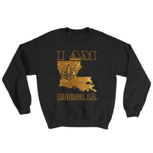 Load image into Gallery viewer, Adult Unisex I Am Monroe Crewneck Sweatshirt