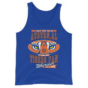 Premium Adult Wherever I Am- Auburn Tigers Tank Top