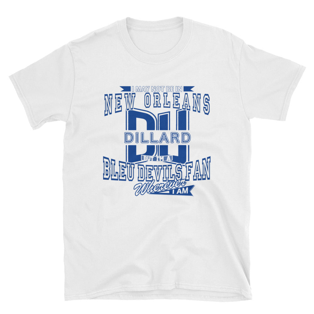Adult Short-Sleeve Dillard Fan Wherever I Am Unisex T-Shirt
