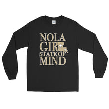 Load image into Gallery viewer, Adult NOLA State of Mind (LA) T-Shirt (LS)